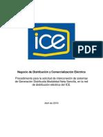 2016.05+PROCEDIMIENTO+CLIENTE+INTERCONEXIÓN+GENERACIÓN+DISTRIBUIDA