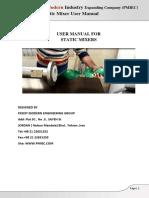 Static Mixer User Manual
