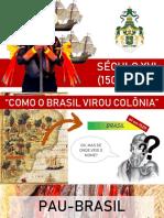 História da Moda - Brasil - Século XVI