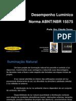[Aula] FORUM Desempenho Luminico NBR15575 Site