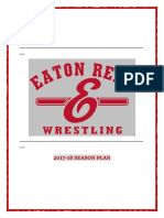 eaton wrestling season plan