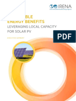 IRENA Leveraging for Solar PV 2017 Summary