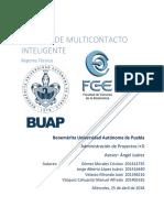 """Proyecto Final """"Multicontacto inteligente"""""""