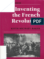 Keith Baker. Inventing the French Revolution