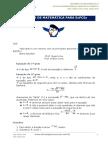 Resumão de Matemática Para EspCEx
