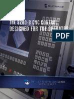 Milltronics 8200-B Control Brochure