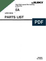 Partslist Juki LK-1900A.Pdf