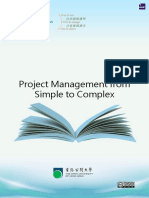 Project Management From Simple to Complex 38453