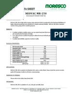 Tds Neovac Mr-250