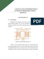 Preventive Maintenance Trafo di PJB UP Cirata
