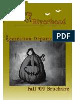 Town of Riverhead Fall Winter 2009 Recreation Brochure