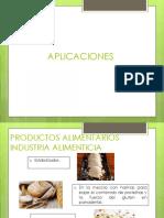 APLICACIONES almidon