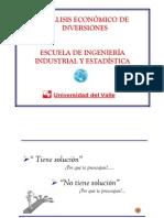 Clase 1. Introduccion a La Ingenieria Economic A. Economia General Modo de ad