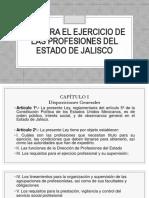 Ley Para El Ejercicio de Las Profesiones Del