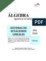 1- Sistemas de Ecuaciones Lineales