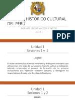 Sesión 1 y 2 Proceso Histórico Cultural Del Perú[1]