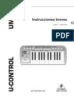 UMX25 Manual