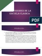 4 La Escuela Clasica