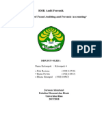 RMK Forensic Accounting and Fraud Auditing Fundamentals Kelompok 4 Audit Forensik C