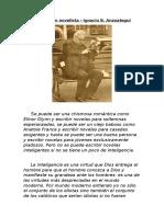 Chesterton Novelista - Ignacio Anzoategui