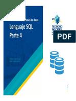 Clase 8 - Lenguaje SQL Parte 4