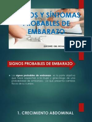 Sintomas De Embarazo Gonadotropina Embarazo