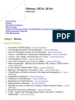 Agriculture and Botany (B.Sc., M.Sc.,) - Lecture Notes and Study material for college students