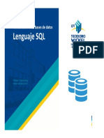 Clase 5 - Lenguaje SQL
