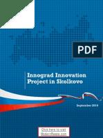 Innograd Innovation Project in Skolkovo (factsheet via ModernRussia.com)