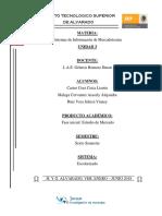 Fase 1. Diseño de Estudio de Mercado