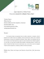 Imagen, Dispostivo y Cultura Visual. El Caso de La Ex Estación Dario y Maxi