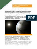 Hay rastros de vida en los meteoritos .pdf