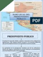 Base Legal Del Presupuesto Público