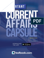 Important Current Affairs Capsule March 2018 in PDF 2