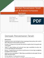 Teknik Pengendalian Pencemaran Tanah Oleh Sampah & Analisis Ptps B-1