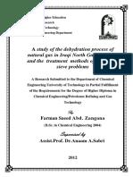 Study of Dehyration Process.pdf
