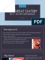 great gatsby powerpoint intro