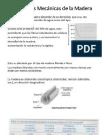 Propiedades Mecánicas de La Madera