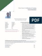 Exam Report Ccna