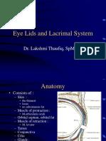 Eye Lid & Lacrimal System