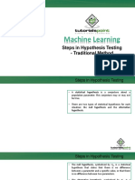 Chap-5 Hypothesis Testing