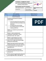 Mechanical Technical Comments - Saudi Arabian Services Company