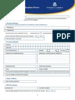 UG Application Form 18.19