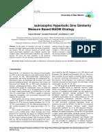Single Valued Neutrosophic Hyperbolic Sine Similarity Measure Based MADM Strategy