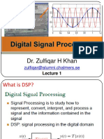 DSP Lecture 1