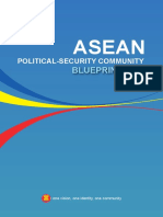 Asean Political-security Community Blueprint 2025
