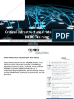 Critical Infrastructure Protection (CIP) NERC Training