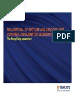 Hong Kong Disposal of Dredged Contaminated Sediments