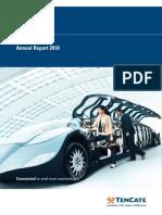 Koninklijke TenCate Annual Report 2010 English