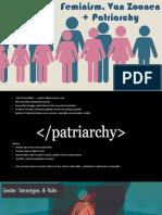 patriarchy   van zoonen